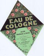 Etiket Etiquette - Eau De Cologne - Grande Pharmacie De France - H. Doublet -  Lille - Etiquettes