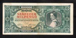 Banconota Ungheria 1946 - 100.000 PENGO  (SPL) - Ungheria