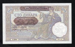 Banconota Serbia -  100 Dinara 1941 (FDS - UNCIRCULATED) - Serbia
