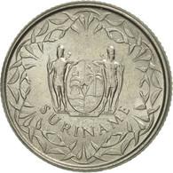 Surinam, 25 Cents, 1976, SUP+, Copper-nickel, KM:14 - Surinam 1975 - ...