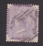 Sierra Leone, Scott #1, Used, Queen Victoria, Issued 1859 - Sierra Leone (...-1960)