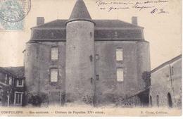 Confolens Chareau De Fayolles  1907 - Confolens
