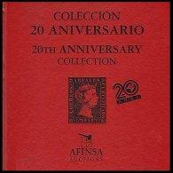 WORLDWIDE, Colección 20º Aniversario Afinsa - 1850-68 Royaume: Isabelle II