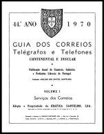PORTUGAL, Guia Dos C.T.T. 1970 - Storia Postale