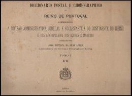 PORTUGAL, Diccionario Postal E Chorographico Do Reino De Portugal 1891-94, By Silva Lopes - Livres, BD, Revues