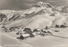 Autriche - Zürs Am Arlberg - Village - Neige B- Postmarked Lech 1956 - Lech