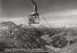 Autriche - Lech Am Arlberg - Rüfikopf-Seilbahn - Téléphérique - Lech