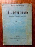 """RARE,1881 """"A. DE BRUCHARD"""",THUILLAT,FERME ECOLE DE CHAVAIGNAC,NIEUL,HAUTE-VIENNE,87,LIMOUSIN,NOUVELLE AQUITAINE - Livres, BD, Revues"""
