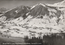 Autriche -  Brand Bei Bludenz - Niggenkopf - 1968 - Bludenz