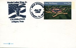 25039, U.s.a. Special Postmark 1998,  Martin Luther King Jr. - Martin Luther King