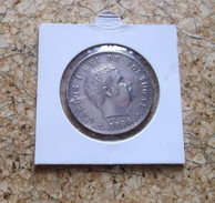 PORTUGAL 500 Reis 1896 Silver CARLOS I - Portugal