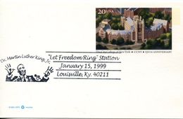 25041, U.s.a. Special Postmark 1999,  Martin Luther King Jr. - Martin Luther King