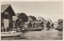 Suede  Fisketängen  Hamnparti  - 1954 -  - Scan Recto-verso - Suède