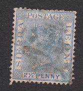Sierra Leone, Scott #27, Used, Queen Victoria, Issued 1883 - Sierra Leone (...-1960)