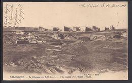 """GRECE - Salonique  """"Le Château Des Sept Tours - The Castle Of The Seven Towers""""  B/TB - - Griekenland"""