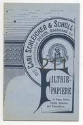 CARL SCHLEICHER & SCHÜL / DÜREN - Catalogues