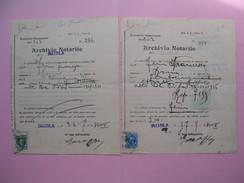 Arcivio Notarile  1971  Roma Document Avec Timbres Fiscaux  à Voir - Italy