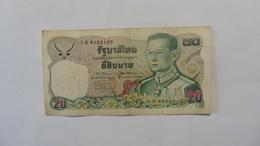 Thaïlande :Billet 20 Baht - Thaïlande