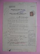Ufficio Delle Succession  1923  Office Des Successions Avec Timbres Fiscaux  à Voir - Italy
