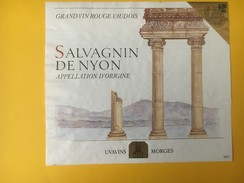 5137 - Salvagnin De Nyon Vaud Suisse Colones Romaines - Etiquettes