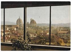 CARTOLINA ANNI '60  - FIRENZE - Palazzo Dei Congressi Belvedere Panoramico , Non Viaggiata - Firenze