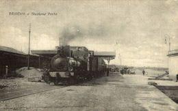BRINDISI, Stazione Porto. RAILWAY - Brindisi