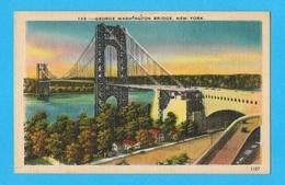 GEORGE WASHINGTON BRIDGE NEW YORK - Ponts & Tunnels