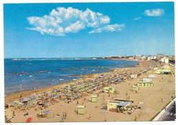 CARTOLINA ANNI '50  -  RIVIERA ADRIATICA - Spiaggia Con Capanni Ed Ombrelloni  , Non Viaggiata - Rimini