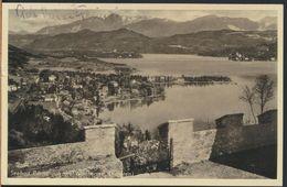 °°° 6299 - AUSTRIA - SEEBAD PORTSCHACH AM WORTHERSEE - 1937 With Stamps °°° - Pörtschach