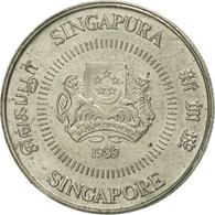 Singapour, 10 Cents, 1989, British Royal Mint, SUP+, Copper-nickel, KM:51 - Singapour