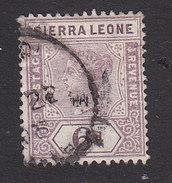 Sierra Leone, Scott #42, Used, Queen Victoria, Issued 1896 - Sierra Leone (...-1960)