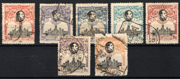 España Nº 300,302/3 Y 306/09 - Used Stamps