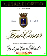 BODEGAS  CESAR FLORIDO   CHIPIONA - Etiquetas