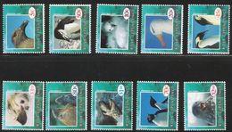 1994 Ross Dependency Wildlife Penguins Birds   Set Of 10   (missing 1995 40c) MNH - Nuovi