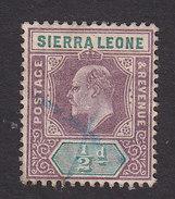 Sierra Leone, Scott #64, Used, King Edward VII, Issued 1903 - Sierra Leone (...-1960)