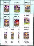 Soccer Football Fujeira Luxes 1463/7 A + B  1970 World Cup Mexico MNH ** - 1970 – Mexique