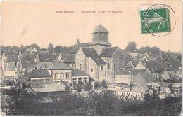 BAYE --L'école Des Filles Et  L'église - France