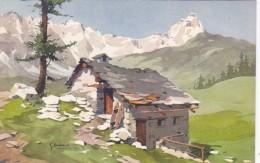 Switzerland Masure Vers Le Mont Cervin - VS Valais