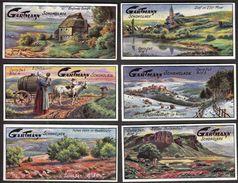 Altona /.Gartmann - Kakao Und Schokolade Fabrik / Serie 541 / 1-6 Komplett / Church, Cows - Sonstige