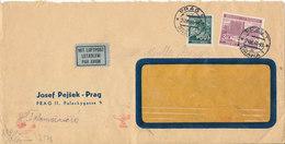 Bohemia & Maravia Nazi Censored Cover Prag 24-6-1941 - Böhmen Und Mähren