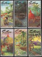 Altona /.Gartmann - Kakao Und Schokolade Fabrik / Serie 556 / 1-6 Komplett / Bilder Aus Ceylon / Boat, Cows - Sonstige