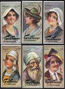 Altona /.Gartmann - Kakao Und Schokolade Fabrik / Serie 559 / 1-6 Komplett / Hats - Chocolate