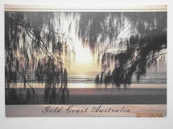 Postcard Sunrise Gold Coast Australia PU 1999 Nice Clean Butterfly Stamp  My Ref B21792 - Gold Coast