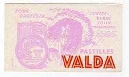 Sept17  79167   Buvard  Pastilles Valda - Produits Pharmaceutiques