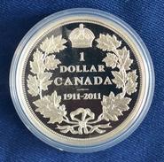 Kanada 2011 Silber Dollar 100 Jahre Dollar-Prägungen KM 1112, PP (m1288) - Canada