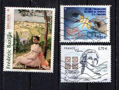 2017 YT / 5122 -5132 -5036  Bazille- Loi Sur L'organisation Du Crédit - Sophie Germain (2016) - France