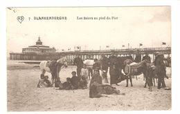 Blankenberge - Les âniers Au Pied Du Pier - 1912 - Blankenberge