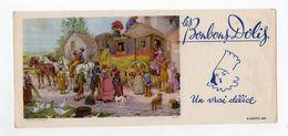 Sept17  79141      Buvard   Les Bonbons Dolij - Gingerbread