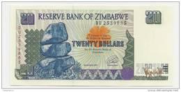 Zimbabwe 20 Dollari 1997 UNC - P.7 - Zimbabwe