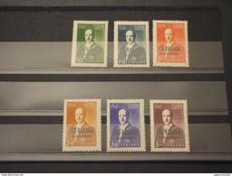 FINLNDIA - CARELIE - 1942 R. RYTI  6 VALORI - NUOVI(++) - Finland